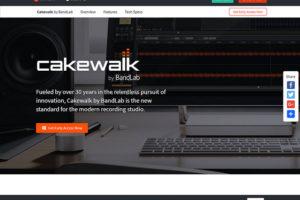 シンガポールのBandLab社によりCakewalk=SONARが奇跡の復活、全ユーザーへ完全無料公開!インストール方法と、いくつかの注意点