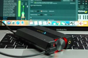 384kHz/32bitの再生も可能な15,000円の小さなオーディオインターフェイス、Sound BlasterX G6の実力