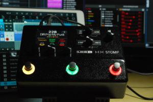Line 6 Helixをコンパクトに凝縮したHX Stompが登場。小さくてリーズナブルだけどPCとの相性はバッチリ!