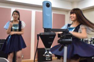 ZOOM H3-VRとRICOH THETA SCを組み合わせ、360度動画に音も追従するミュージックPVを作ってみた!