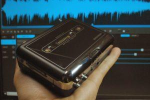 microSDへのダビング機能搭載カセットレコーダーとノイズリダクション&マスタリングソフトがセットで5,980円!?