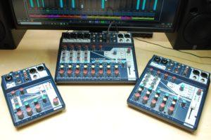 SoundcraftのUSB接続小型ミキサー、Notepad Seriesが3機種発売。DTM用にもネット配信用にも便利に使える!
