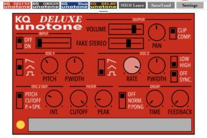 240円で存分に遊べるmonotron風シンセサイザのおもちゃアプリ、KQ Unotoneが超強力